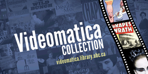 Videomatica film collection available at UBC and SFU libraries