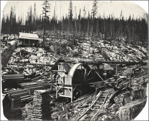 View of a sawmill