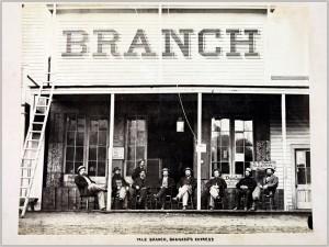 Yale Branch, Bernard's Express